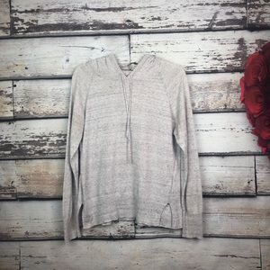 Gap women's grey budding hoodie sweater medium